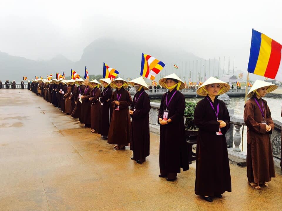Tăng Ni sinh Học viện Phật giáo Việt Nam tại Hà Nội tập huấn để phục vụ Đại lễ Phật đản LHQ - Vesak 2019