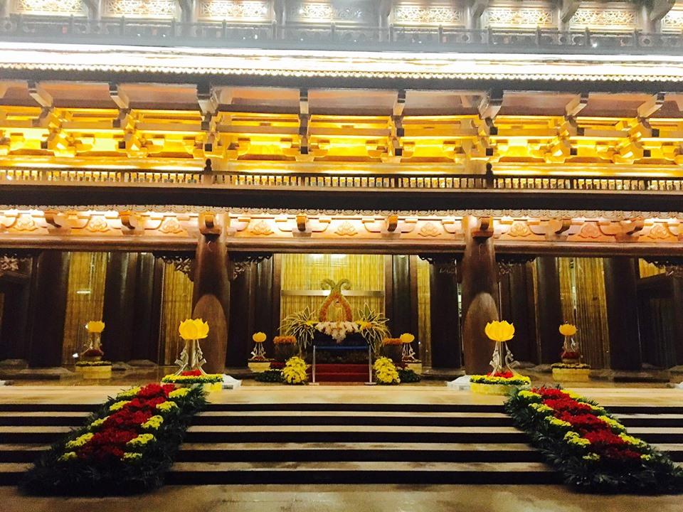 Tất cả đã sẵn sàng cho Lễ khai mạc Đại lễ Phật đản LHQ