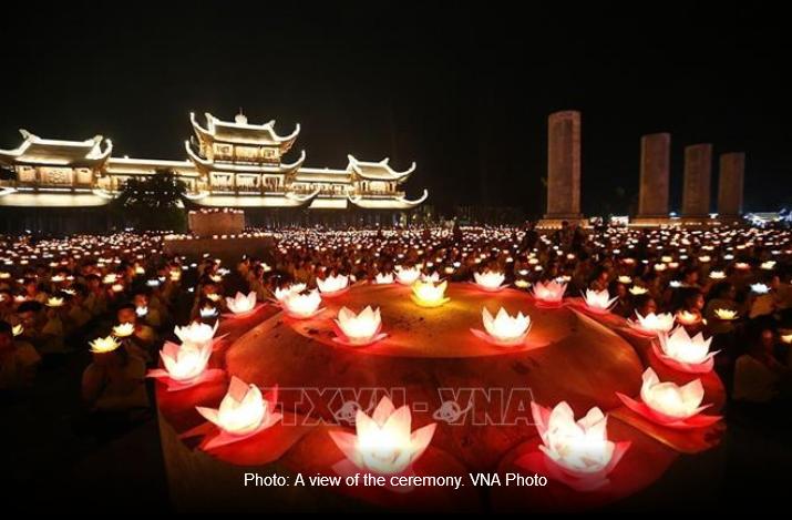 Vesak 2019: Candle-lit procession for world peace